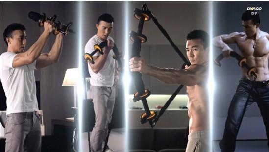 健身新宠:刘畊宏揭秘台湾型男健身神器