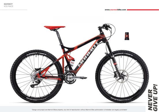 marmot土拨鼠健身自行车品牌:单车五种卖法