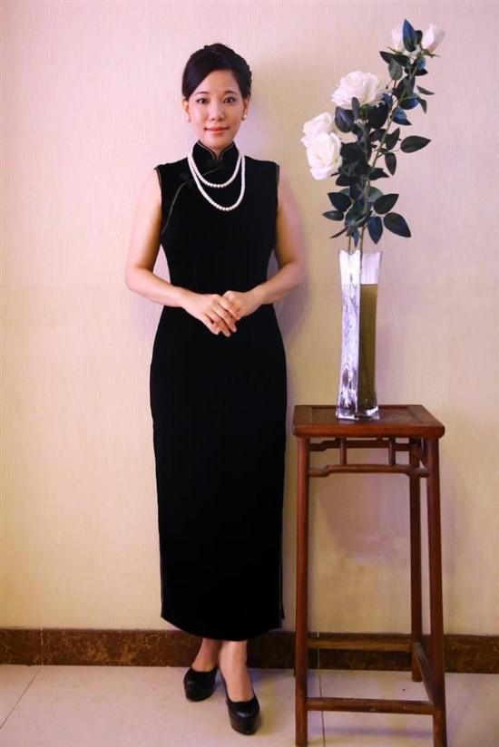 访谈中国百变旗袍设计师东方美琪创始人安琪
