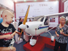 市民体验私人飞机