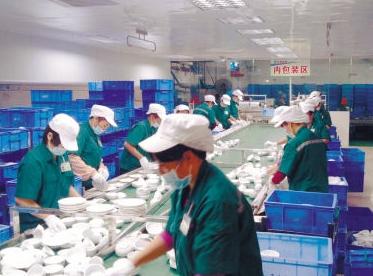 工厂产埋汰餐具