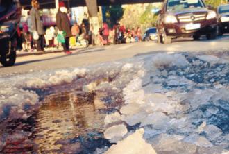 辽宁发布道路结冰预警