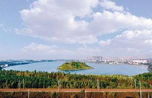 于洪斥资亿元改造丁香湖