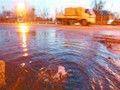 望花中街发大水