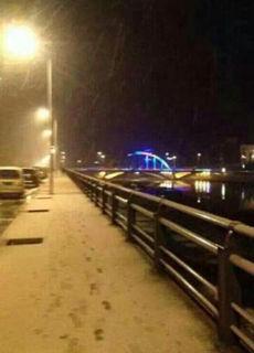 辽宁多个城市迎今冬第一场雪