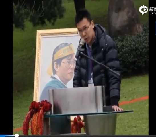 """台学生领袖早年视频曝光 称""""支持台独"""""""